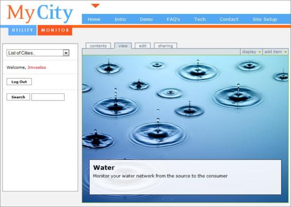 MyCity Website